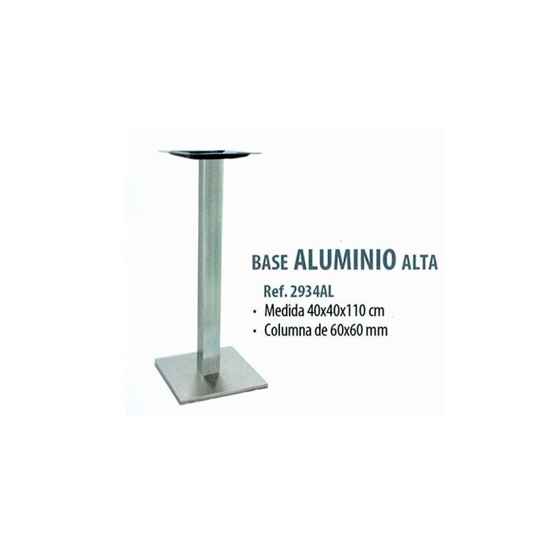 BASE  ALUMINIO  COLUMNA 60X60   40X40X110
