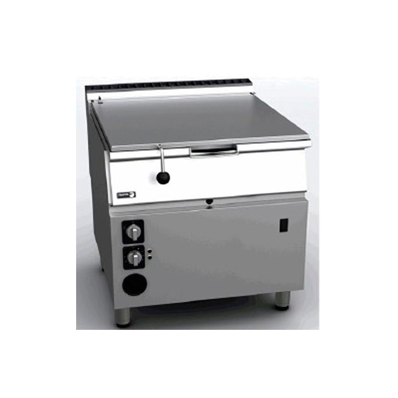 SARTEN BASCULANTE A GAS INOX L 90 KW 18 MM 800x930x850