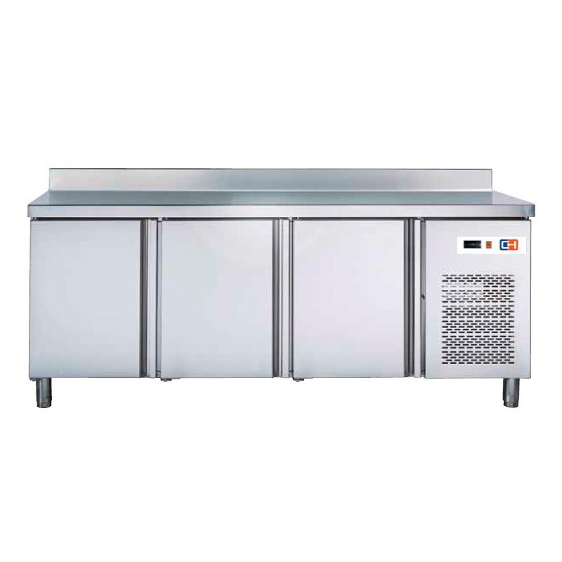 Mesa GN/1 Refrigerada 2 puertas Fondo 700 de 1342 x700 x850h mm W 368
