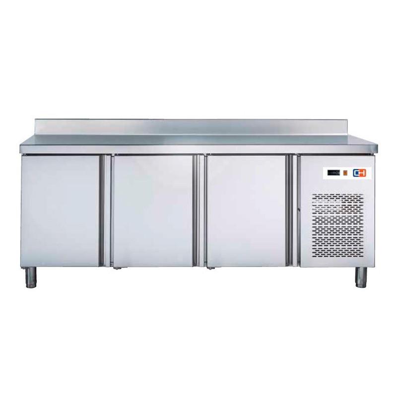 Mesa GN/1 Refrigerada 3 puertas Fondo 700 de 1792 x700 x850h mm W 414