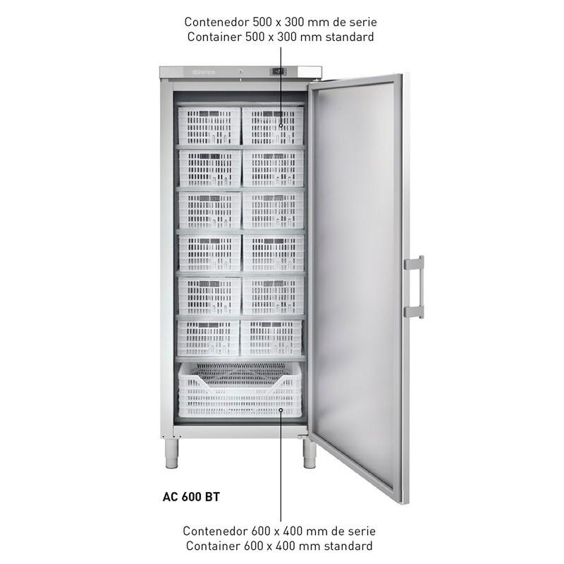 ARMARIO CATERING 600 LITROS REFR INOX 0ºC/+8ºC