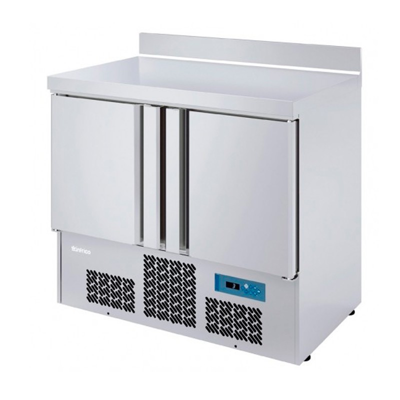 MESA ENSALADA INOX S/ENC 978x700x855/1050 mm +0ºC/+6ºC