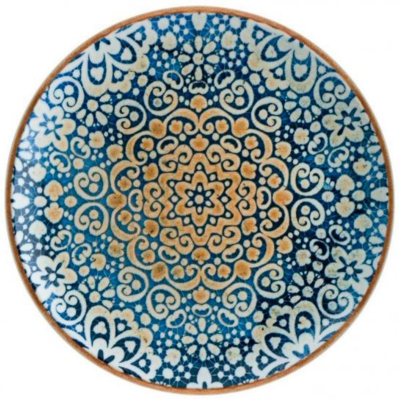 PLATO PAN GOURMET ALHAMBRA ø17x2,2cm              12u/c