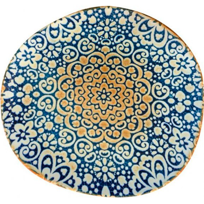 PLATO HONDO TANGO ALHAMBRA 26x24cm                6u/c