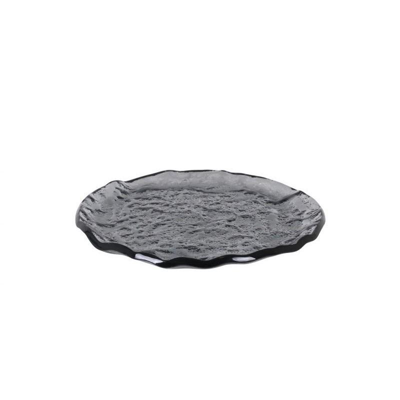 PLATO PAN NEGRO ø15x1cm...