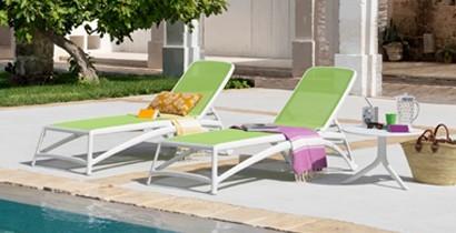 Tumbona jardín y piscina | CBB Hostelería