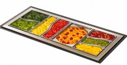 Cubetas de acero inoxidable para buffet. | CBB Hostelería