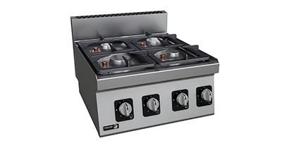 Cocinas a gas gama 600 | CBB Hostelería