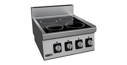Cocinas vitrocerámicas gama 600 | CBB Hostelería