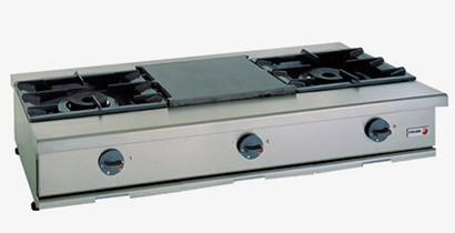 Cocinas a gas de sobre mesa | CBB Hostelería