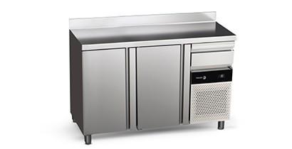 Frente mostradores de refrigeración