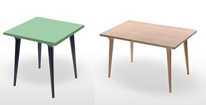 Mesas de resina y tablero
