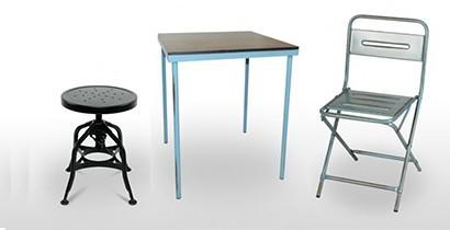 Venta de sillas, taburetes y mesas. | CBB Hostelería
