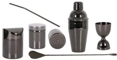 Accesorios de cocteleria color negro | CBB Hostelería