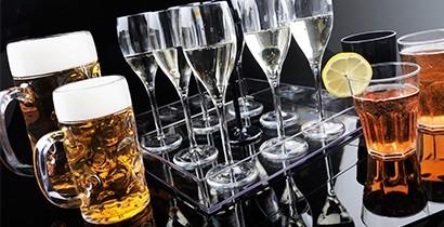 Vasos y jarras de Gold Plast resistentes | CBB Hostelería