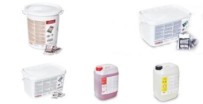 Productos de limpieza para la Combi Master