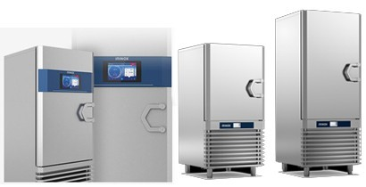 Abatidores rápidos de temperatura Irinox en Cbb hostelería.