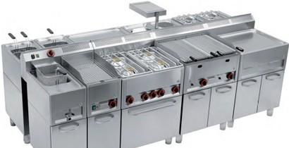 Equipamiento cocinas serie 600 | CBB Hostelería
